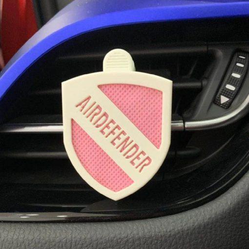 airdefender 空气卫士在车内使用