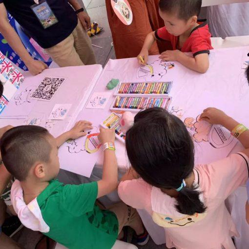 空气卫士在广州的活动,儿童涂色游戏
